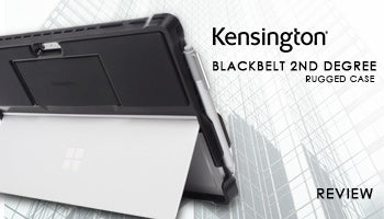 Kensington Blackbelt 2nd Degree Rugged Case for Surface Pro 4 Review :  Light Rugged Case with Hand Strap & Stand
