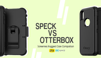 Speck Presidio Ultra Rugged Case & Otterbox Defender for iPhone XS/X Comparison : Which Belt Clip Case is Stronger?