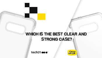 Otterbox Symmetry Clear Case vs Tech21 Pure Crystal Clear Bullet Shield Case for Galaxy S10E : Which is the Best Clear and Strong Case?