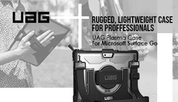 UAG Plasma Case for Microsoft Surface Go : Rugged, Lightweight Case for Professionals