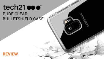 Tech21 Pure Clear Bulletshield Case Review : Stay Clear Longer With UV yellowing resistant Feature