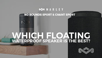 House of Marley No Bounds Sport Portable Bluetooth Speaker vs  House of Marley Chant Sport Bluetooth Waterproof Speaker