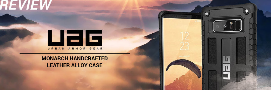 uag monarch handcrafted leather alloy case review