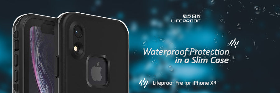 lifeproof fre waterproof for iphone xr review