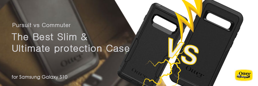 otterbox pursuit case vs otterbox commuter case for samsung galaxy s10 comparison