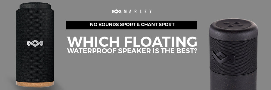 house of marley no bounds sport portable bluetooth speaker & house of marley chant sport bluetooth waterproof speaker comparison