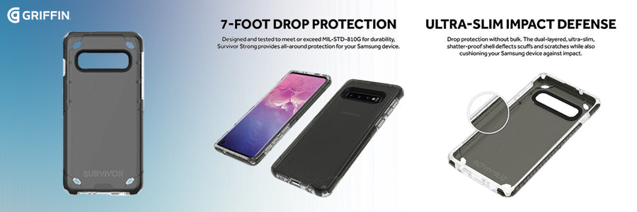 griffin survivor strong case for galaxy s10 smoke review