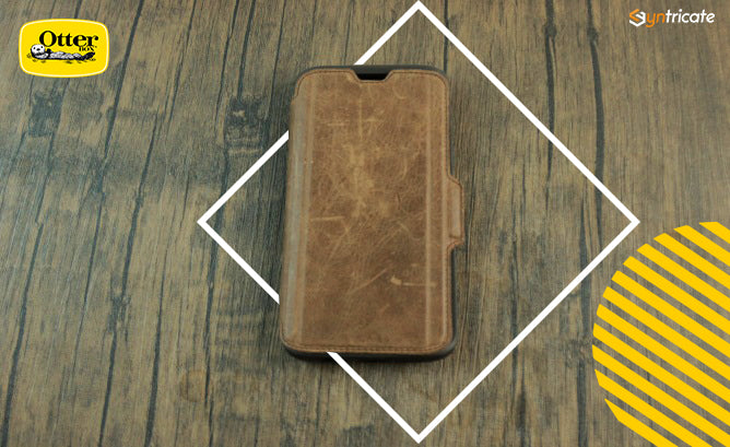 otterbox strada leather folio case for galaxy s9 review