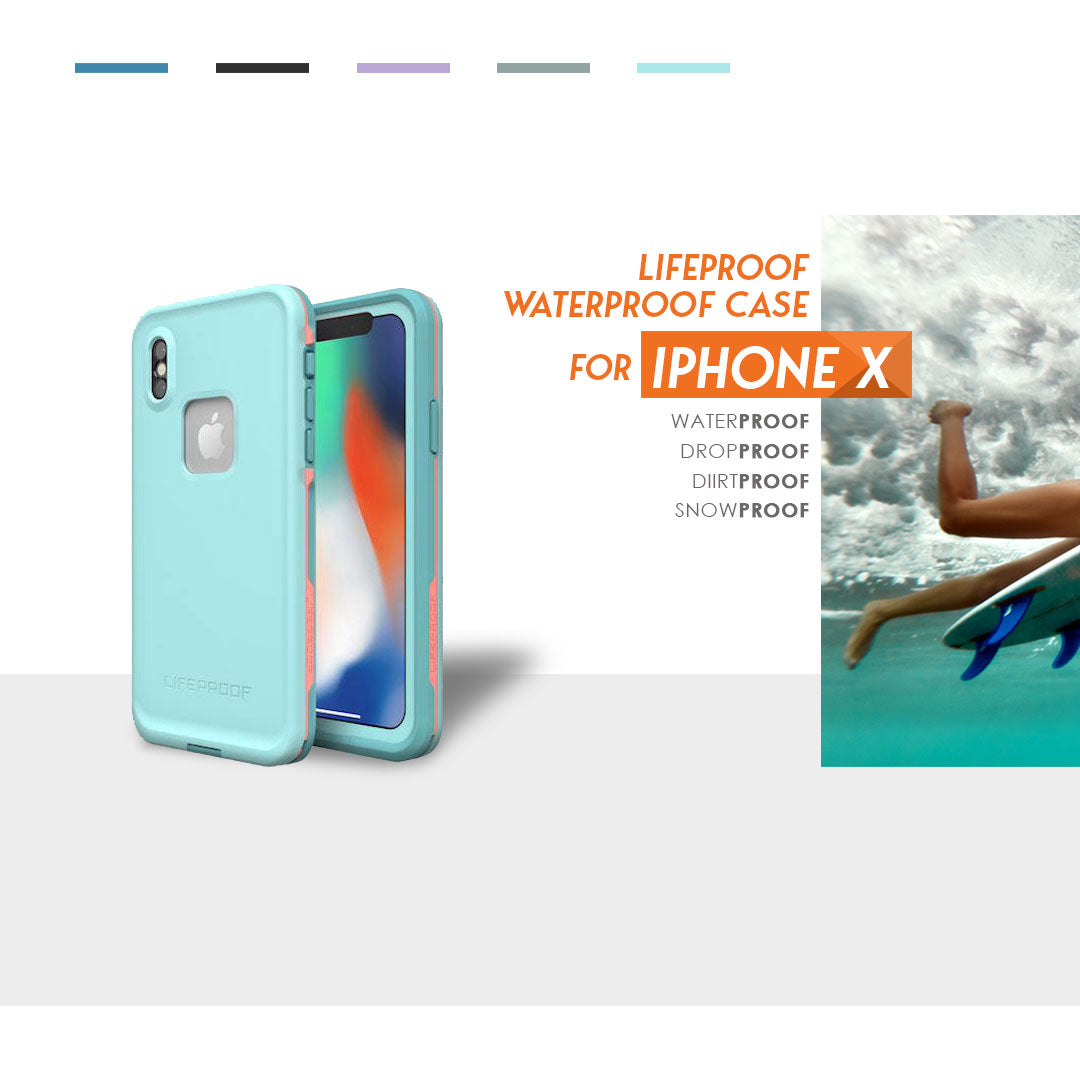 Lifeproof waterproof case for iphone x