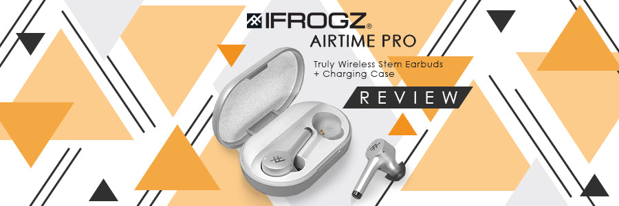 zagg ifrogz airtime pro truly wireless stem earbuds + charging case review