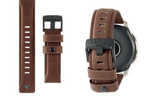 uag leather watch strap for galaxy watch band review
