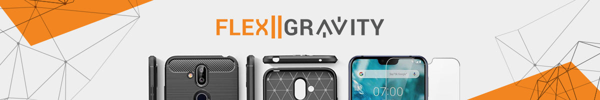 FlexII Gravity Screen protector, tempered glass & cases for smartphone & Tablet