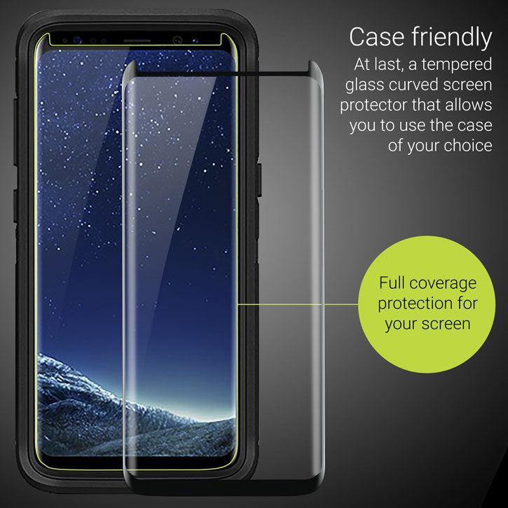 Case-friendly test Galaxy S9