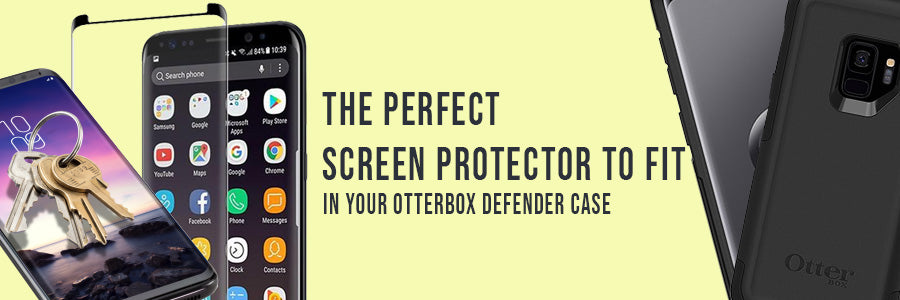 The perfect screen protector to fit in your Otterbox Defender case