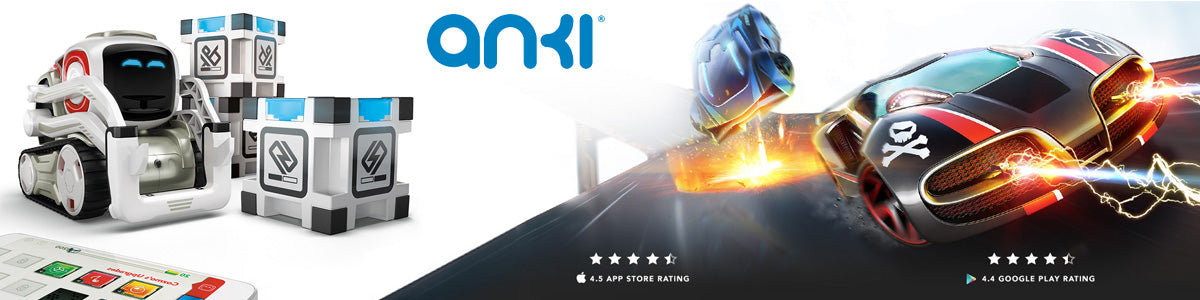 Anki Collections, Buy Cozmo robot, Overdrive fast & Furious, add-on and more