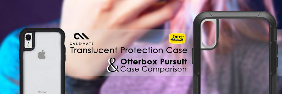 casemate translucent protection case & otterbox pursuit case comparison