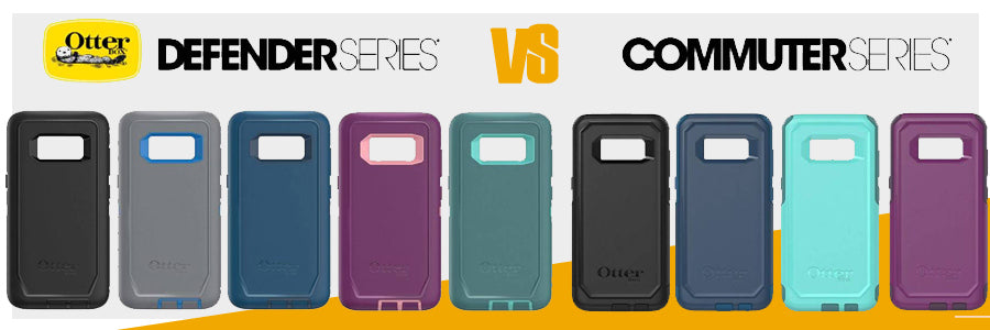 on sale 06e33 573cd Comparison Otterbox Defender Vs Otterbox Commuter
