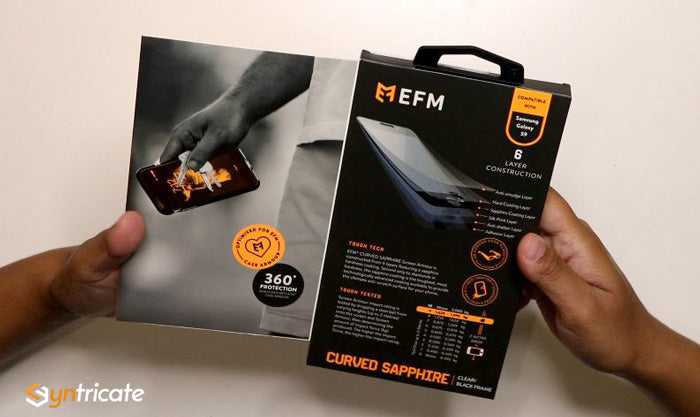 Australia efm screen Protector for Galaxy S9