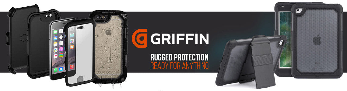 Griffin australia, case, cable, charging station for iphone, samsung and more. free express shipping