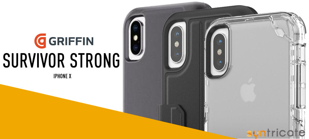 Griffin Survivor Strong case collection For iPhone X Australia
