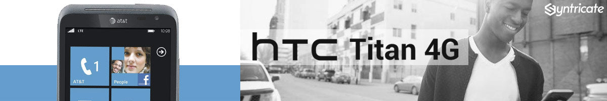 buy online htc titan 4g case, cable, dock and more accesories at syntricate with afterpay payment