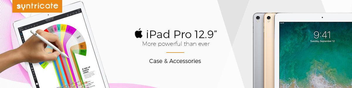 iPad pro 12.9 2017 case & accessories in Australia. Otterbox, griffin, incase, speck, incipio and more available with free shipping. Get yours now and accessorise your ipad