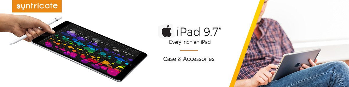 ipad 9.7 inch 2017 case and accessories. Premium brand from incipio, griffin, otterbox, and more.