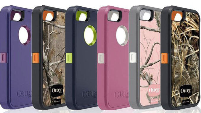 colour selection otterbox defender for iphone and samsung