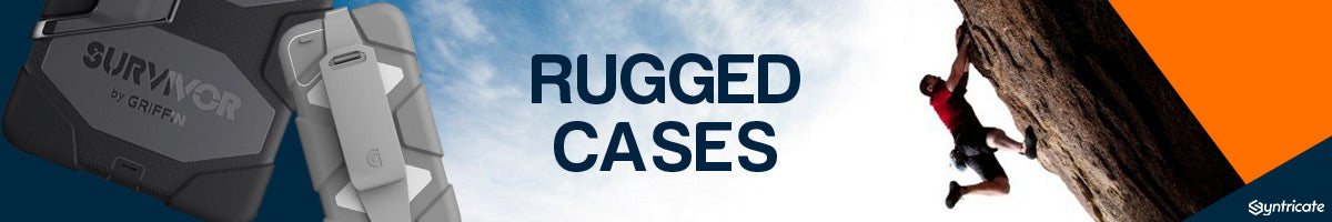 Rugged Tough Strong Cases Collection for iPhone, Samsung, iPad, and more from Otterbox, Lifeproof, Griffin & more.