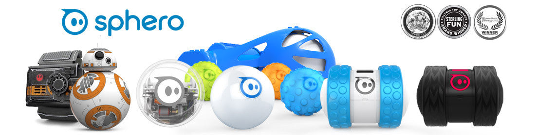 buy Sphero products, bb8, sprk, ollie and darkside