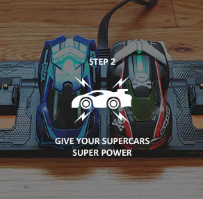 step 2 to play anki overdrive supercars: charge the anki cars