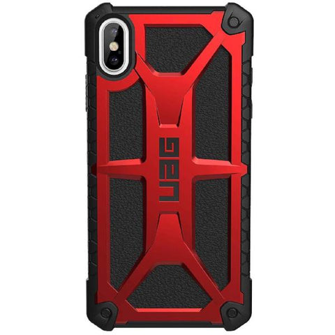 Place to buy MONARCH HANDCRAFTED RUGGED CASE FOR IPHONE XS MAX - CRIMSON FROM UAG online in Australia free shipping & afterpay.