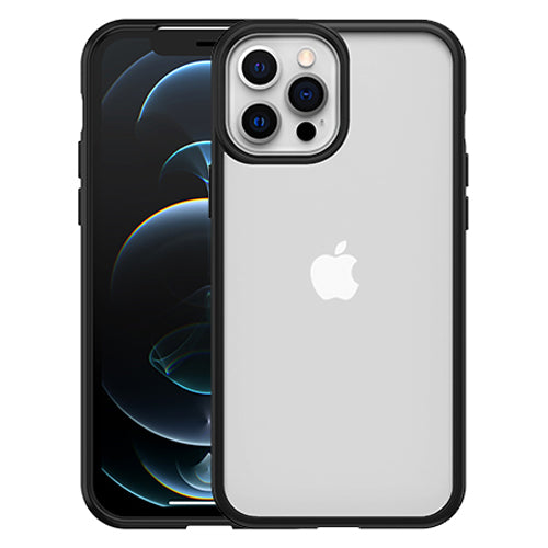 Buy new slim case for iPhone 12 pro max with screen bumper black minimalist design with free shipping Australia wide.