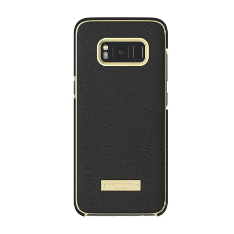 Shop Australia stock KATE SPADE NEW YORK WRAP PROTECTIVE CASE FOR GALAXY S8+ (6.2 inch) - SAFFIANO BLACK / GOLD LOGO PLATE with free shipping online. Shop Kate Spade New York collections with afterpay