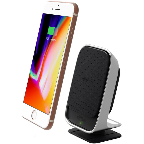 IOTTIE ITAP QI WIRELESS FAST CHARGE CAR MAGNETIC DOCK FOR IPHONE X/8/8 PLUS/ GALAXY S8/S8 PLUS/NOTE 8/S7/S7 EDGE