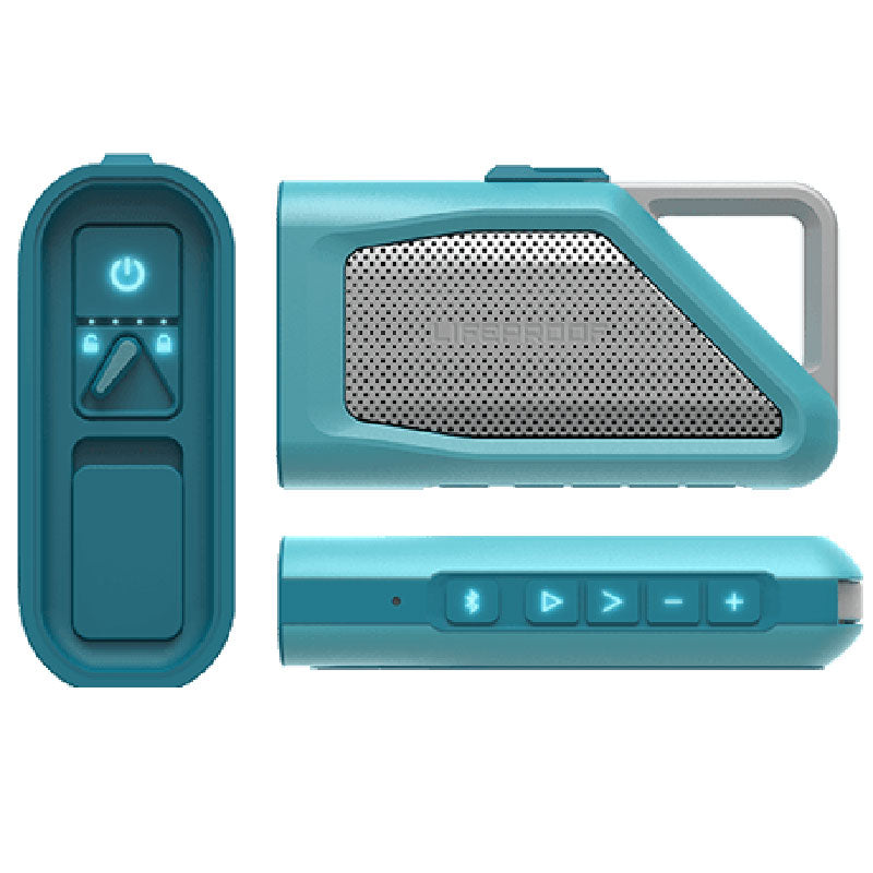 Lifeproof Aquaphonics AQ9 Portable Bluetooth Waterproof Speaker - Clear Water Australia Stock