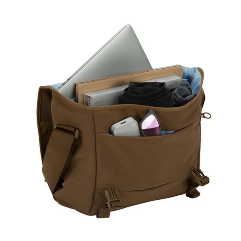 "place to get incase compass messenger bag for macbook upto 15"" inch bronze free shipping australia wide"