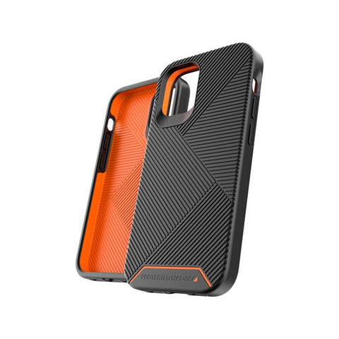 "Buy New iPhone 12 Pro/12 (6.1"") Battersea D30 Rugged Hard Case From GEAR4 - Black with free shipping Australia wide."