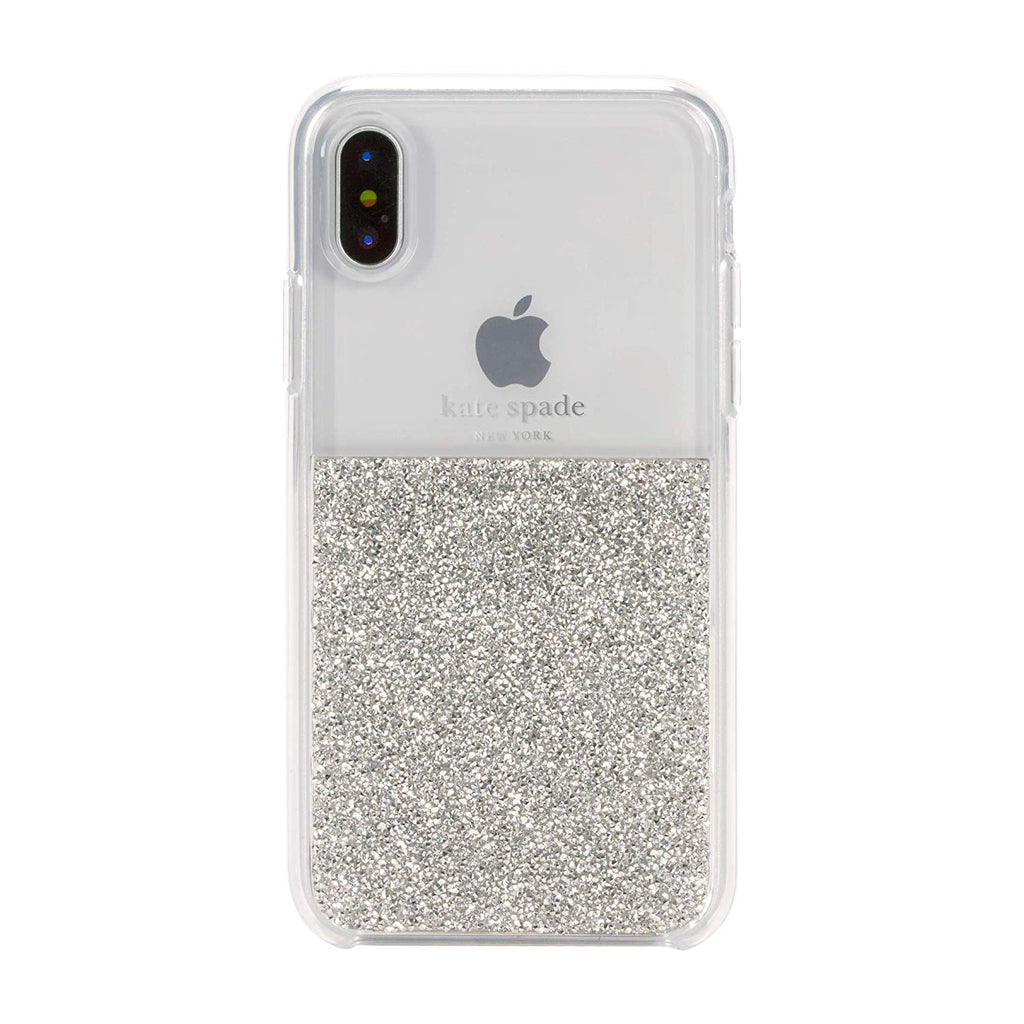 Kate Spade New York Silver half tone case for iPhone XS Max Australia Stock