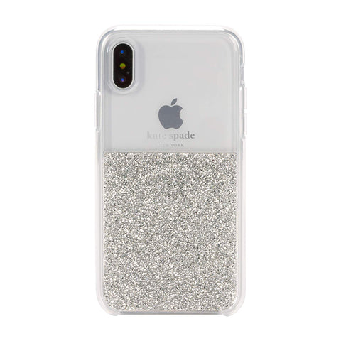 Kate Spade New York Silver half tone case for iPhone XS Max