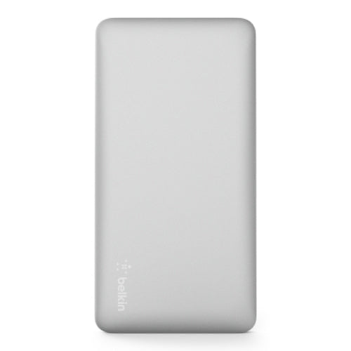 BELKIN POCKET POWER 5K MAH POWER BANK (AKA PORTABLE CHARGER) - SILVER