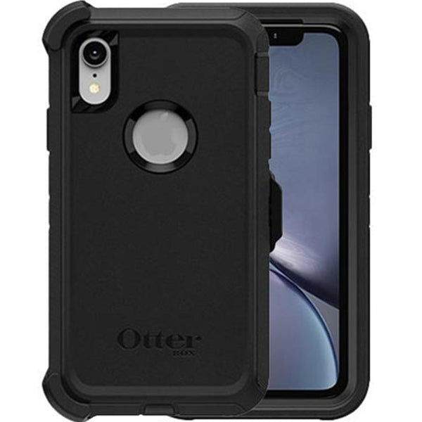 rugged black case for iphone xr with kickstand from otterbox australia with free shipping australia wide
