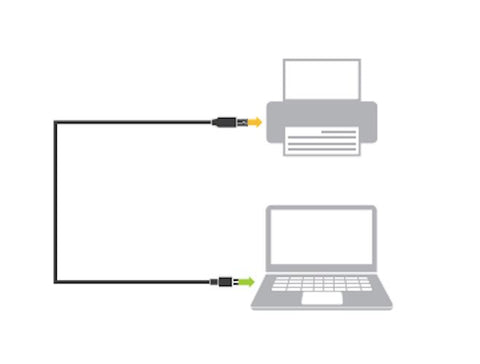 GRIFFIN USB-C TO USB-B CABLE POWER/DATA CONNECTION (1.8M)