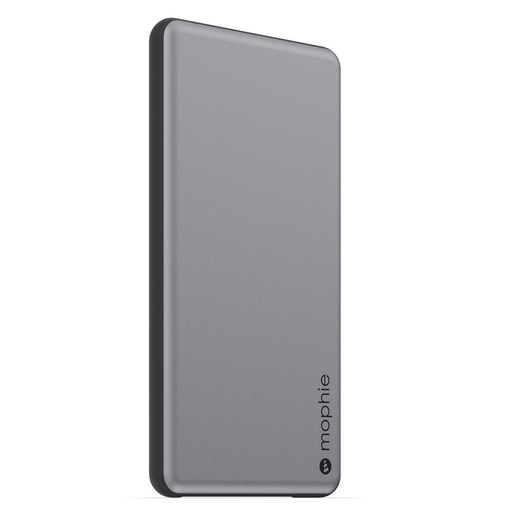 newest 0b57e 682ab MOPHIE POWERSTATION PLUS MINI 4000 MAH EXTERNAL POWER BANK WITH BUILT IN  CABLES - SPACE GRAY