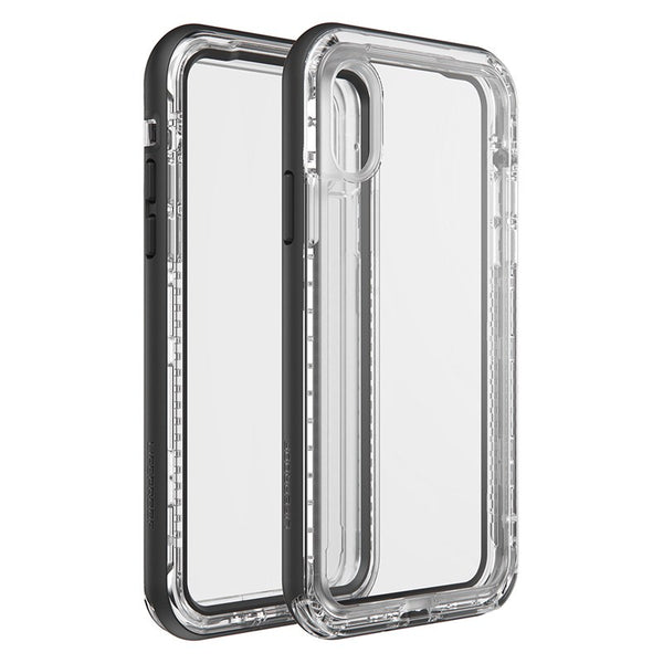 iPhone XS Max lifeproof next case australia black clear