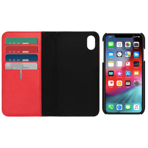 Place to buy LEATHER WALLET CARD FOLIO CASE FOR IPHONE XS/X - EMBER FROM TUMI online in Australia free shipping & afterpay.