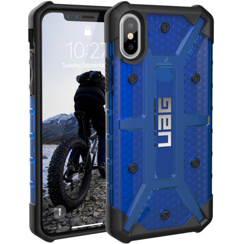 the one and only place to buy online brand new Uag Plasma Armor Clear Shell Case For Iphone X - Cobalt free shipping australia wide