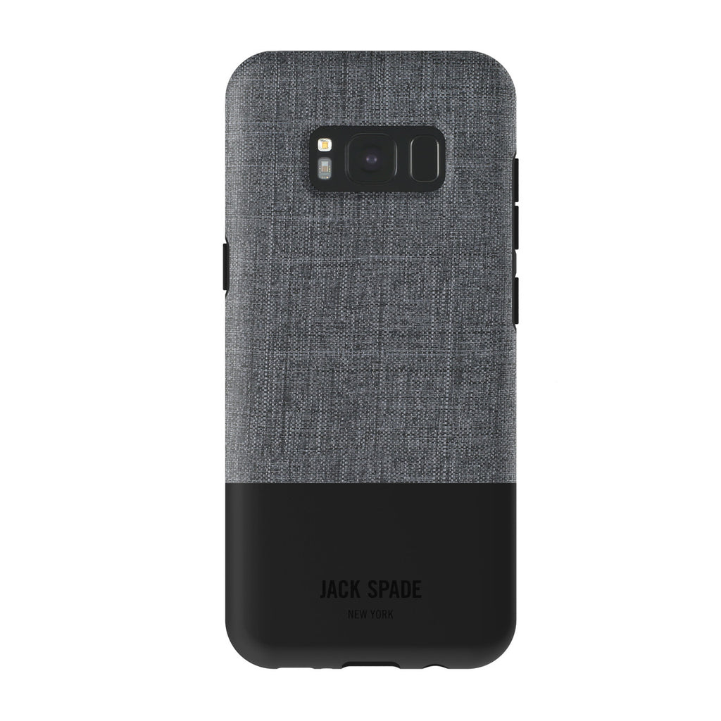 Shop Australia stock JACK SPADE TECH OXFORD COLOR-BLOCK CASE FOR GALAXY S8+ (6.2 inch) - GREY/BLACK with free shipping online. Shop Jack Spade New York collections with afterpay Australia Stock