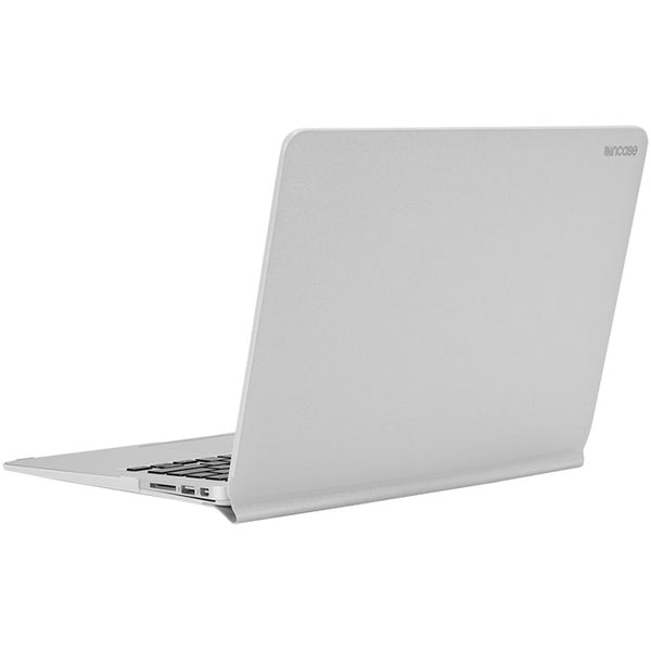 incase snap jacket protective case for macbook air 13 inch - silver