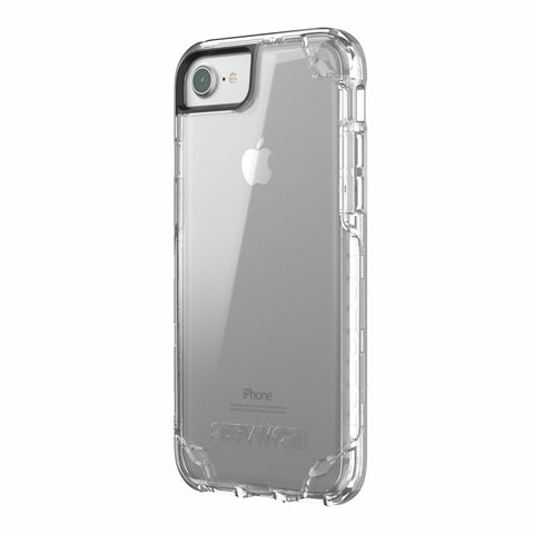 GRIFFIN SURVIVOR STRONG SLIM CASE FOR iPHONE 8/7/6S - CLEAR